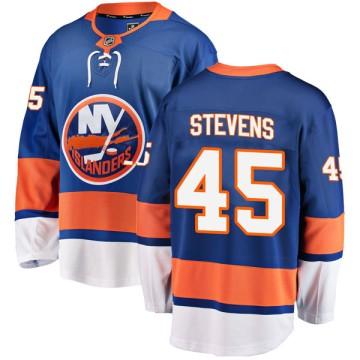 Breakaway Fanatics Branded Men's John Stevens New York Islanders Home Jersey - Blue